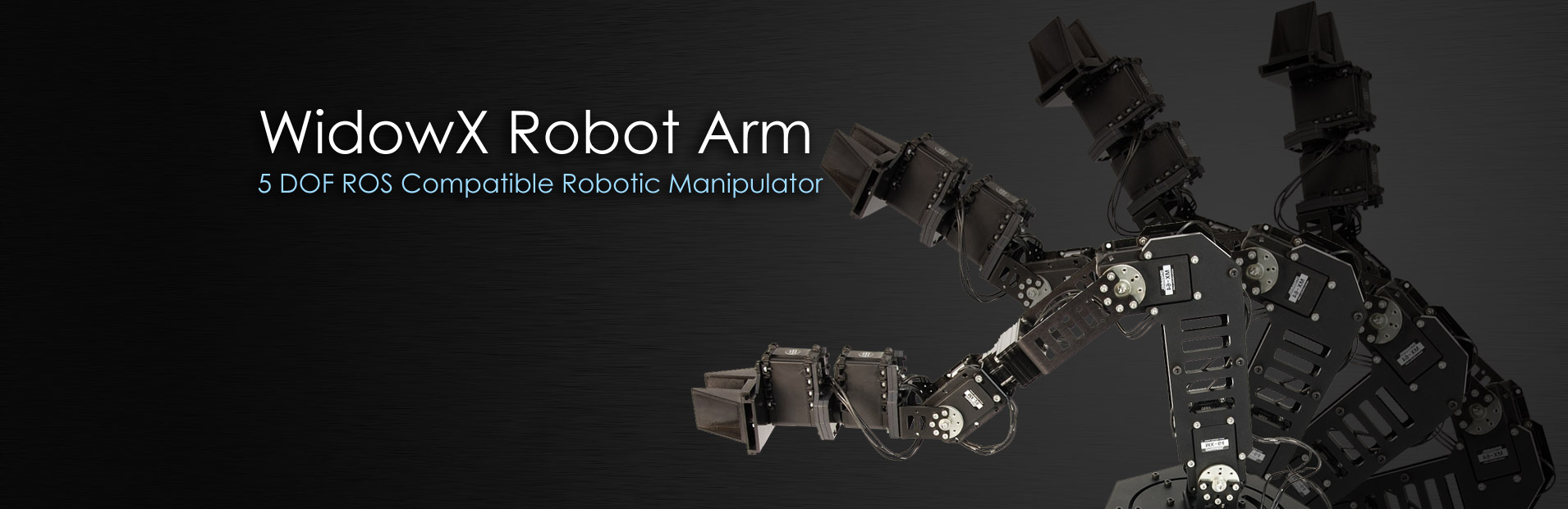 WidowX Robot Arm — 6 DOF Robotic Manipulator