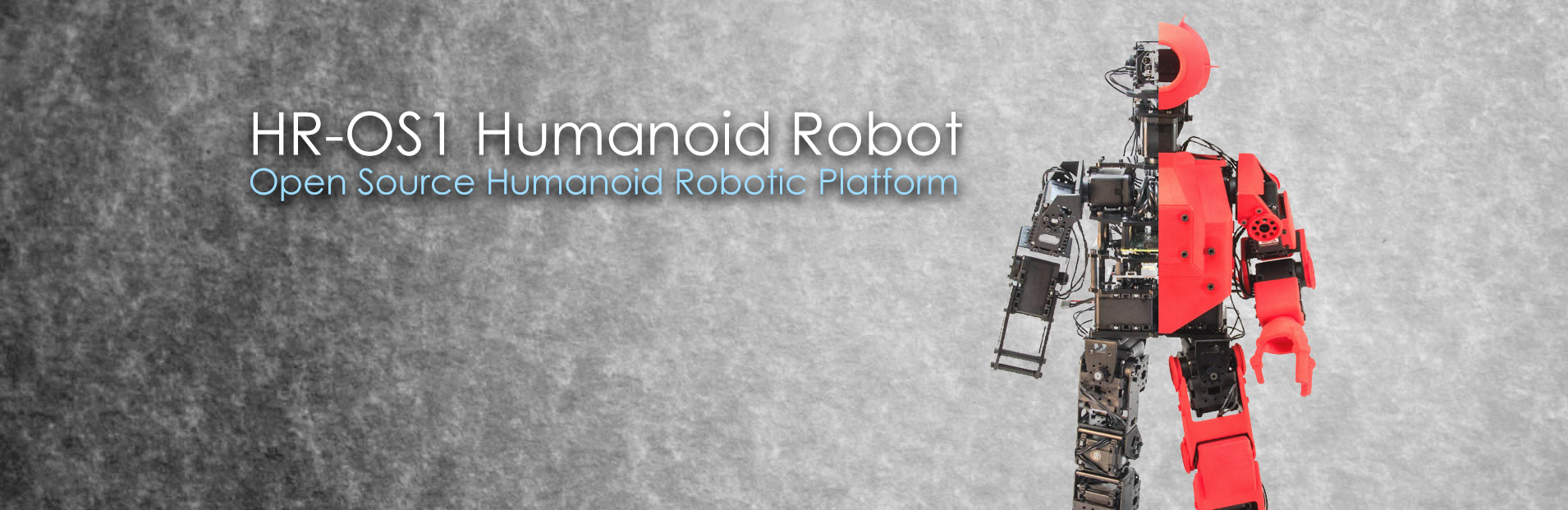 HR-OS1 Humanoid Robot — Open Source Humanoid Robotic Platform